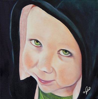 Painting - Green Munchkin by Joni McPherson