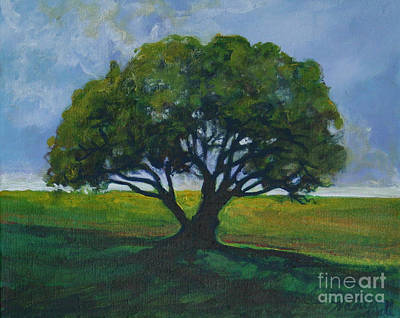 Painting - Green Oak by Michele Hollister - for Nancy Asbell