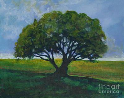 Green Oak Art Print by Michele Hollister - for Nancy Asbell