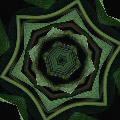 Green On Green Art Print