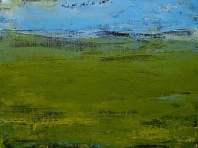 Green Pastures 1 Art Print by Jani Freimann