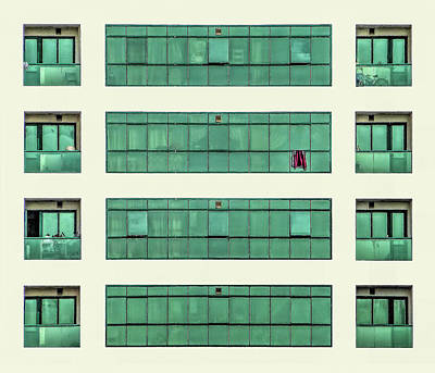 Photograph - Green Patterns by Roberto Pagani