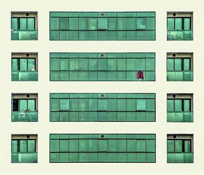 Photograph - Green Patterns by Roberto Pagani