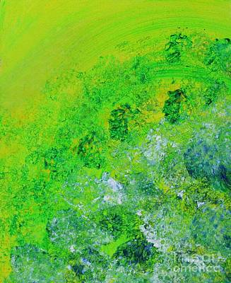 Painting - Green Peace by Sarahleah Hankes