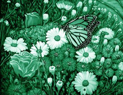 Designers Choice Digital Art - Green Planet by Katreen Queen