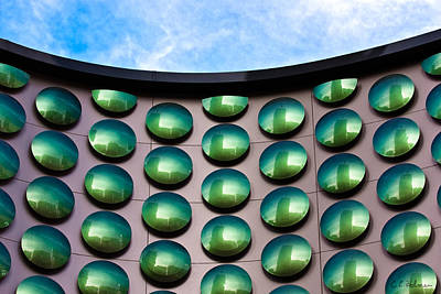 Photograph - Green Polka-dot Curve by Christopher Holmes