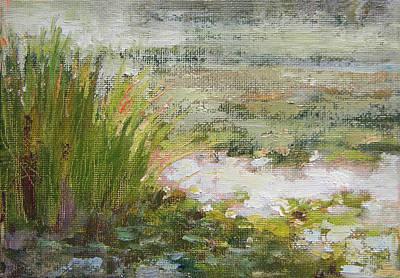 Green Pond Original by Tracie Thompson