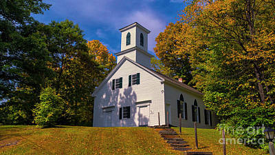 Photograph - Green River Church by Scenic Vermont Photography