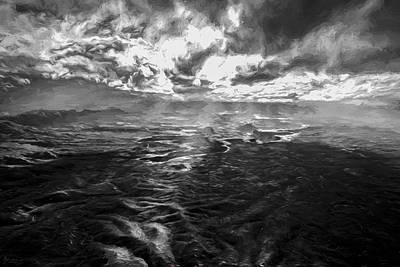 Rain Digital Art - Green River Rays II by Jon Glaser