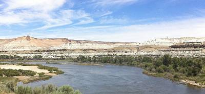 Photograph - Green River Wyoming - 2  by Christy Pooschke