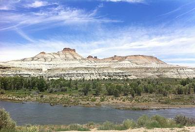 Photograph - Green River Wyoming  by Christy Pooschke