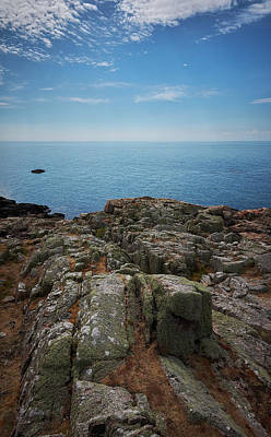 Photograph - Green Rocks by Andreas Gerden