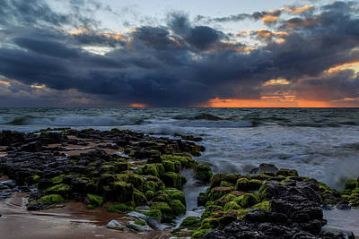 Photograph - Green Rocks by Robert Caddy