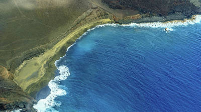 Photograph - Green Sand Beach Aerial by Denise Bird