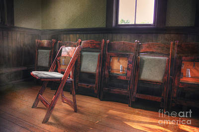 Photograph - Green Seat Chair # 2 by Craig J Satterlee