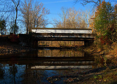 Photograph - Green Sergeants Covered Bridge by Elsa Marie Santoro