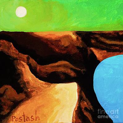 Green Skies Art Print by Igor Postash