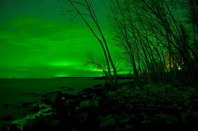 Nikki Vig Royalty-Free and Rights-Managed Images - Green Skies -Northern Lights by Nikki Vig