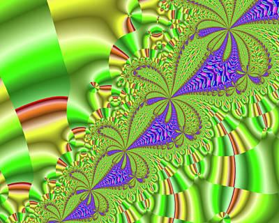Digital Art - Green Soul by Barbara Burns