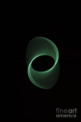 Photograph - Green Spiral by Brian Roscorla