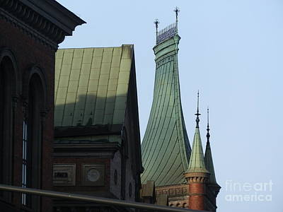 Architecture Photograph - Great Spires Of Stockholm by Margaret Brooks