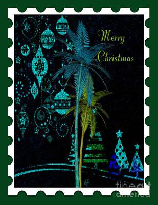 Digital Art - Green Stamp by Megan Dirsa-DuBois