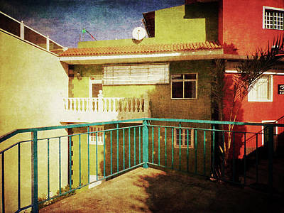 Photograph - Green Street Corner, Alcala by Anne Kotan
