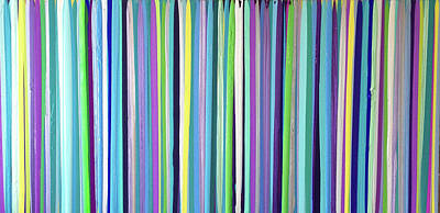 Painting - Green Stripe by Margalit Romano