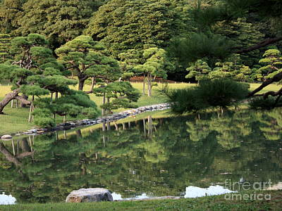 Photograph - Green Tokyo Garden by Carol Groenen