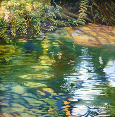 Painting - Green Treasure by Lucinda  Hansen