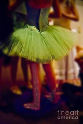 Photograph - Green Tutu Ballerina by Craig J Satterlee