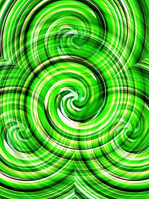 Photograph - Green Twister by Dietmar Scherf