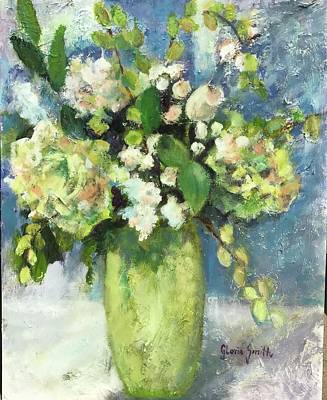 Painting - Green Vase by Gloria Smith