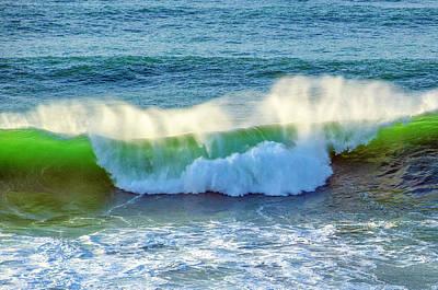 Photograph - Green Wave by Dennis Bucklin