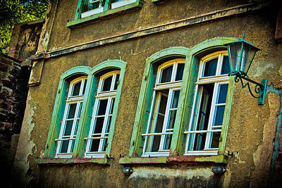 Green Windows Art Print