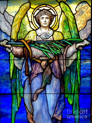 Photograph - Green Winged Angel by Ed Weidman
