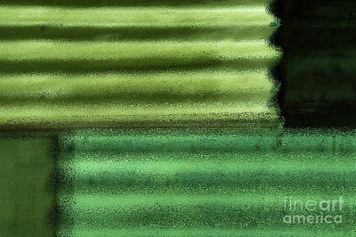 Digital Art - Green With Envy by Wendy Wilton