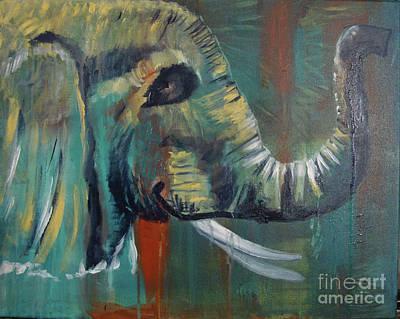 Painting - Green Wonder by Stuart Engel