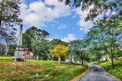 Katharine Hepburn - Green-Wood Cemetery 32 by Randy Aveille