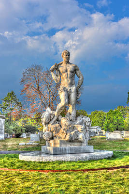 Green-wood Cemetery 53 Original by Randy Aveille