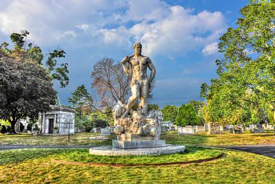 Green-wood Cemetery 54 Original by Randy Aveille