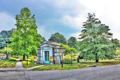 New York City Photograph - Green-wood Cemetery 8 by Randy Aveille