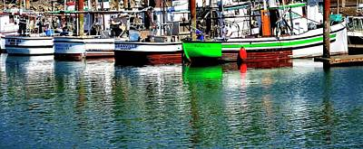 Photograph - Green Yachats by Jerry Sodorff