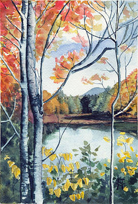 Painting - Greenbriar River, Wv 2 by Katherine Miller
