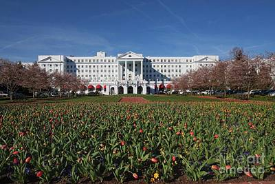 Photograph - Greenbrier Resort by Laurinda Bowling