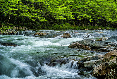 Photograph - Greenbrier Tranquility by Cathie Crow