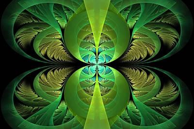Apo Digital Art - Greenery by Lyle Hatch