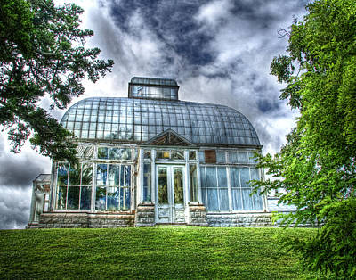 Photograph - Greenhouse At Botanical Gardens by Tammy Wetzel