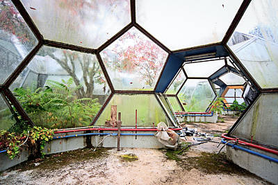 Greenhouse From Out Of Space - Urban Exploration Art Print