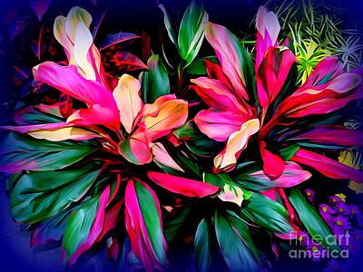 Digital Art - Greenhouse Glory by Ed Weidman